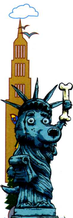 карикатуры - статуя Свободы
